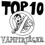 Top 10 - Vampirjäger