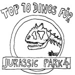 Jurassic Park 4 Top 10 Dinos