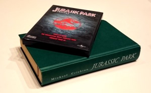 Jurassic Park Buch und Film