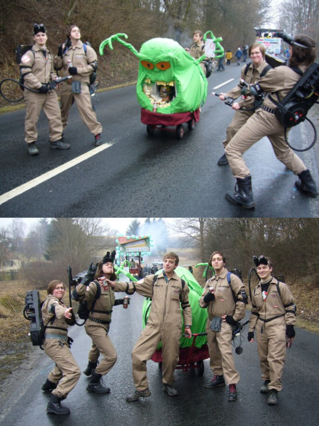 Ghostbusters-Fasching
